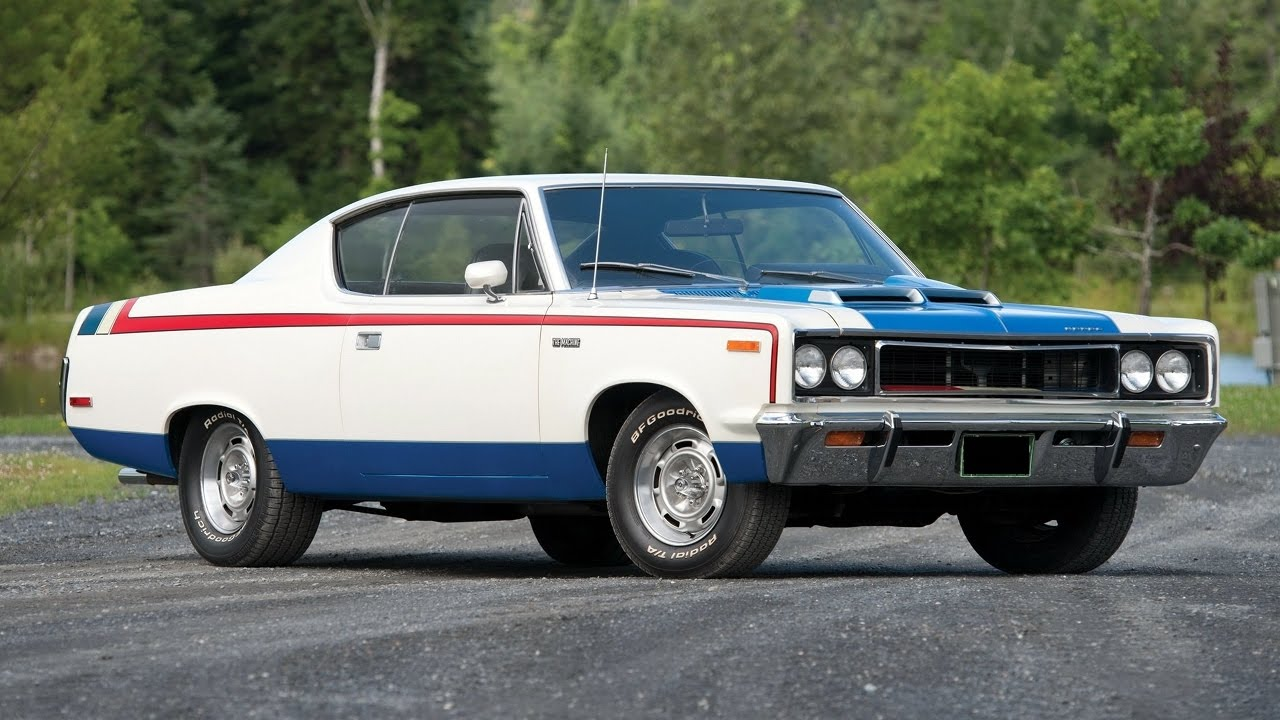 12. 1971 AMC REBEL MACHINE1