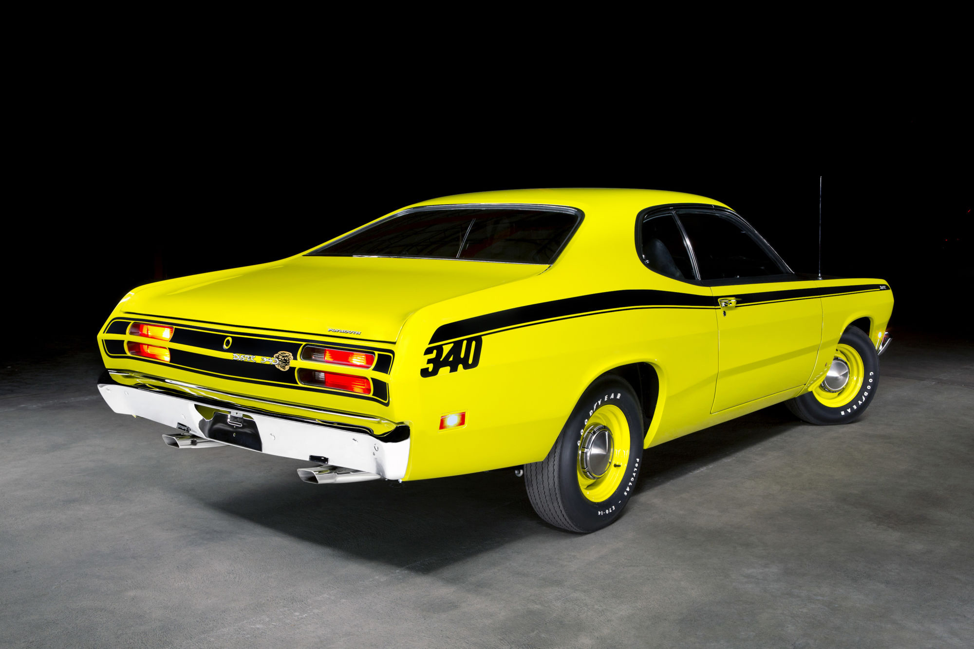 13. 1971 Plymouth Duster