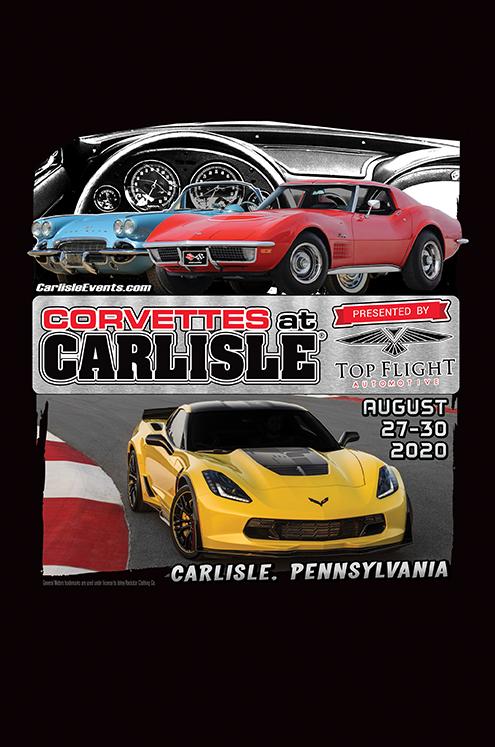 2020 Corvettes at Carlisle
