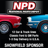 NPD showfield sponsor banner
