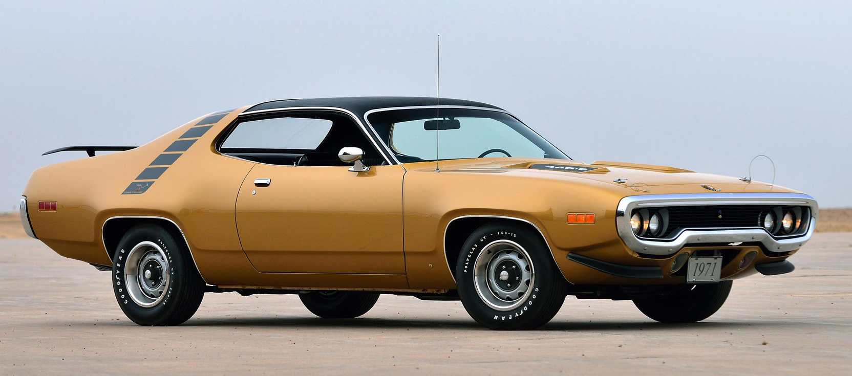 9. Plymouth 'Cuda Roadrunner