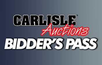 Snag a Bidder's Pass for the Fall Auction and Save