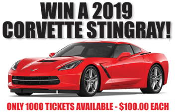 Win a 2019 Corvette Stingray