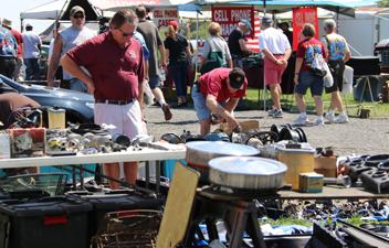 The Corvettes at Carlisle Automotive Flea Market Awaits You