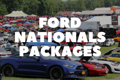 Ford Nationals Packages Are Available!