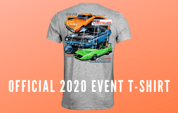 Get Your Chrysler Nationals T-Shirt  Via the Carlisle Store