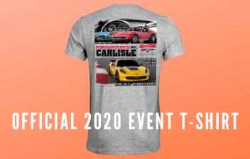 Get Your Corvettes At Carlisle T-Shirt Via the Carlisle Store