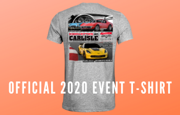 Pre-Order Your Corvettes at Carlisle 2020 T-Shirt
