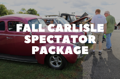 Special Package Deal for Fall Carlisle Attendees