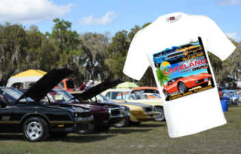 Pre-Register for the Cruise-In & Get the Exclusive T-Shirt