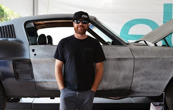 Mike Finnegan of Roadkill Joins the Carlisle Ford Nationals