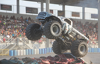 Monster Truck Excitement Back at Carlisle
