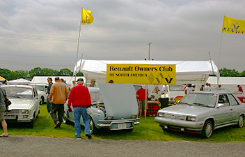 20 Years of the Renault Owners Club at Carlisle