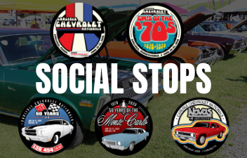 Collect 2020 Chevrolet Nationals Stickers Through Social Stops