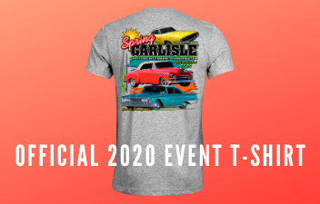 Get Your Spring Carlisle T-Shirt  Via the Carlisle Store