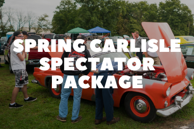 Special Package Deal for Spring Carlisle Attendees