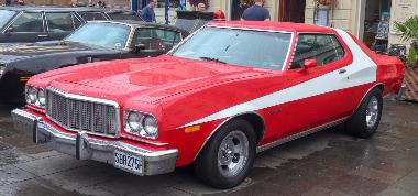 6. Starsky and Hutch -- 1976 Gran Torino