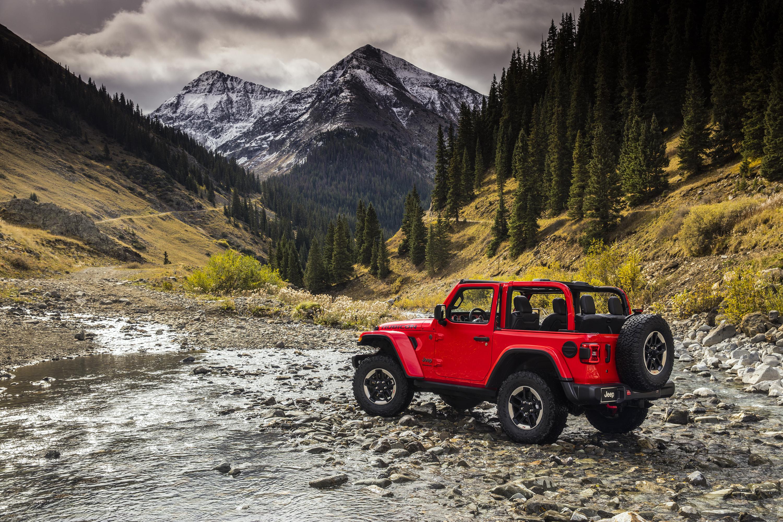 2019 Jeep Wrangler Rubicon Front Right Rear Left