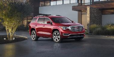 2019 GMC-Acadia-Denali_Front_right_1